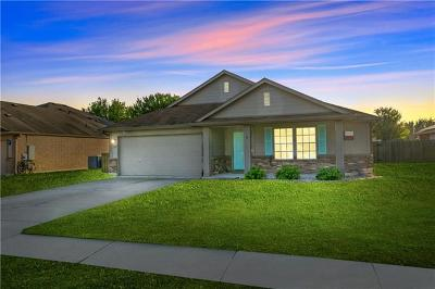 Hutto Single Family Home Pending - Taking Backups: 124 Waterlily Way