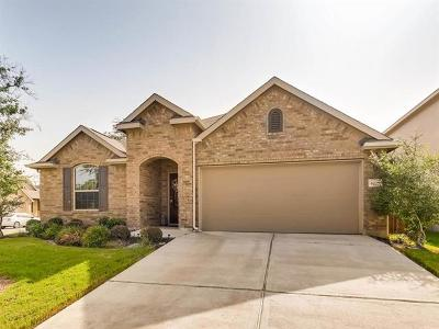 Round Rock TX Single Family Home For Sale: $318,000