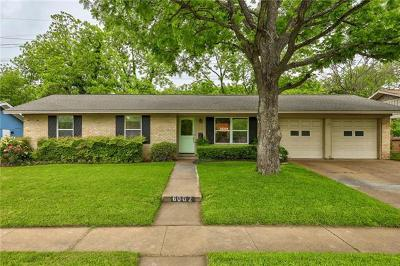 Austin Single Family Home For Sale: 6002 Marilyn Dr