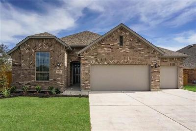 Round Rock Single Family Home For Sale: 4301 Hannover Way