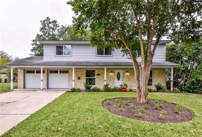 Travis County Single Family Home Pending - Taking Backups: 3005 Val Dr