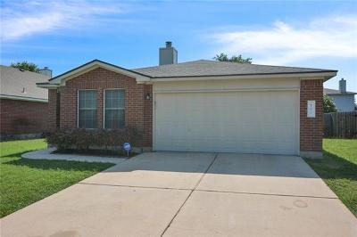 Hutto Single Family Home Pending - Taking Backups: 102 David Dr