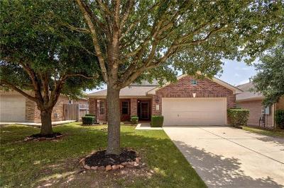 Leander Single Family Home Pending - Taking Backups: 2720 Granite Creek