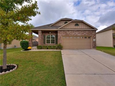 Hutto TX Single Family Home For Sale: $205,000