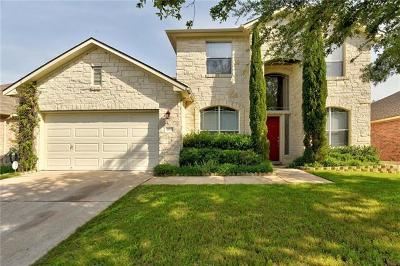 Pflugerville Single Family Home For Sale: 18508 Deep Water Dr