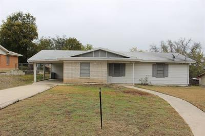 Lampasas Rental For Rent: 211 S Rice St
