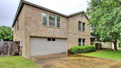 Pflugerville Single Family Home For Sale: 802 Palitine Ln