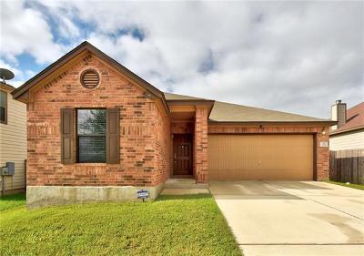 Kyle  Single Family Home For Sale: 291 Rummel Dr
