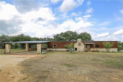 Wimberley TX Single Family Home For Sale: $995,000