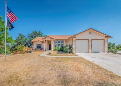 Horseshoe Bay Single Family Home For Sale: 722 Pleasantview Dr