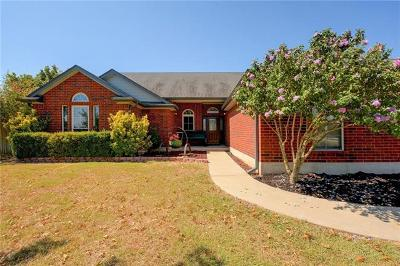 Hutto Single Family Home For Sale: 418 Rio Grande Ave