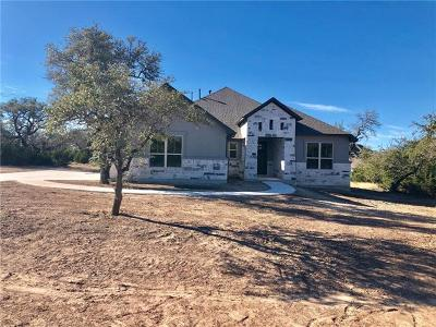 Dripping Springs Single Family Home For Sale: 170 Jenn Cv