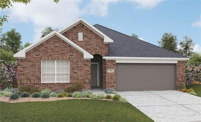 Manor Single Family Home For Sale: 11601 Archery Ct
