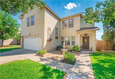 Leander Single Family Home For Sale: 200 Deercreek Ln