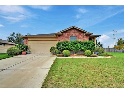 Hutto Single Family Home Pending - Taking Backups: 317 Lidell St