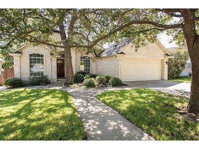 Round Rock Single Family Home For Sale: 17909 Niagara Falls Ter