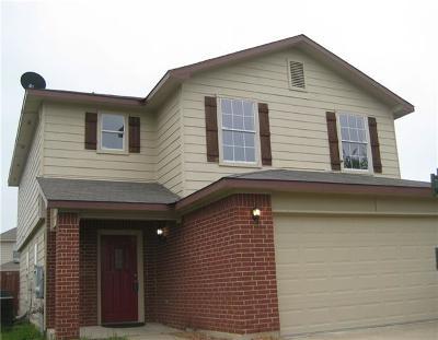 Del Valle Single Family Home For Sale: 12521 Sky Harbor Dr