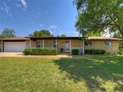 Georgetown Single Family Home For Sale: 1609 Mesquite Ln