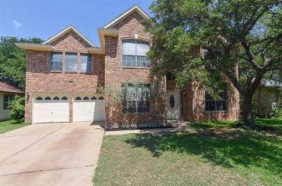 Cedar Park Single Family Home For Sale: 1105 Dover Pass