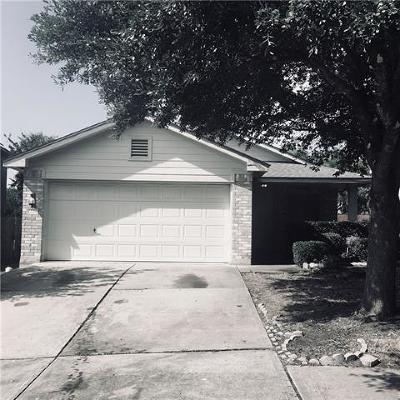 Pflugerville Single Family Home For Sale: 1228 Sleepytime Trl
