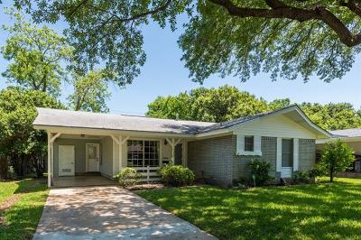 Travis County Single Family Home Pending - Taking Backups: 1508 Weyford Dr