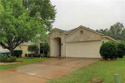 Cedar Park Single Family Home For Sale: 611 Fence Post Pass