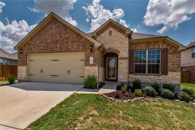 Round Rock Single Family Home For Sale: 2827 Antonio St