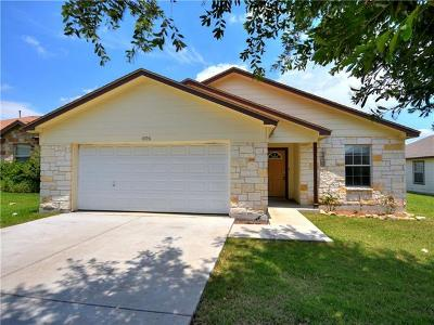 Leander Single Family Home For Sale: 1006 Moon Glow Dr