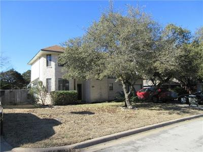 Leander Single Family Home Pending - Taking Backups: 1803 Parkwood Dr