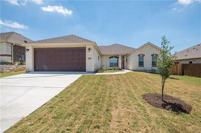 Williamson County Single Family Home Active Contingent: 400 Western Sky Trl