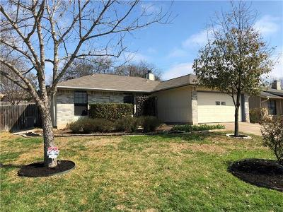 Hays County, Travis County, Williamson County Single Family Home For Sale: 5808 Spring Meadow Rd
