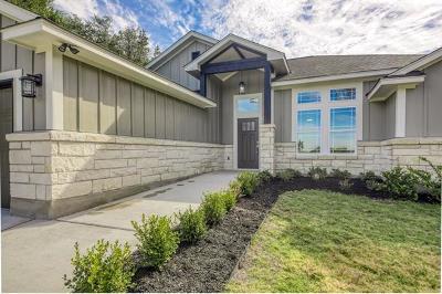 Lago Vista Single Family Home For Sale: 6805 Pinto Cv