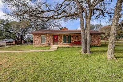 Liberty Hill Single Family Home Pending - Taking Backups: 104 Lariat Cir