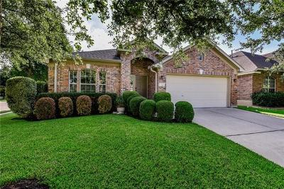 Round Rock Single Family Home For Sale: 601 Crane Canyon Pl