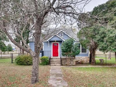 Georgetown Single Family Home For Sale: 2120 Leander St