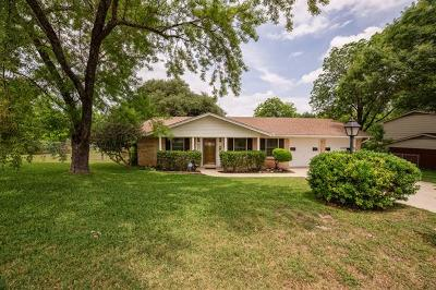 Travis County Single Family Home Pending - Taking Backups: 830 River Oaks Dr
