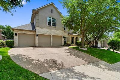 Round Rock Single Family Home For Sale: 2105 Clear Lake Pl