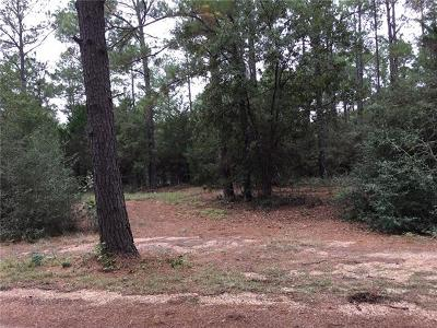 Bastrop County Residential Lots & Land For Sale: 108 & 112 Lake Point Way
