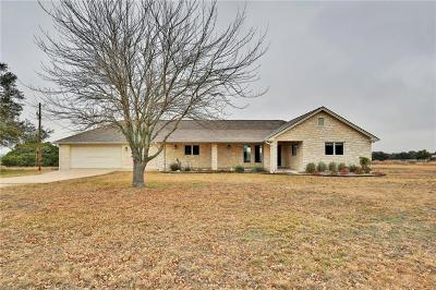 Liberty Hill Single Family Home Pending - Taking Backups: 370-4 Cr 204