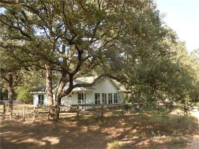 Cedar Creek TX Single Family Home For Sale: $275,000
