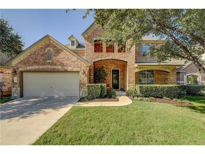 Cedar Park Single Family Home For Sale: 305 Spanish Mustang Dr