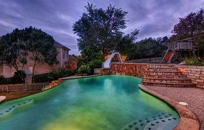 Travis County Single Family Home Pending - Taking Backups: 2112 Cliffs Edge Dr