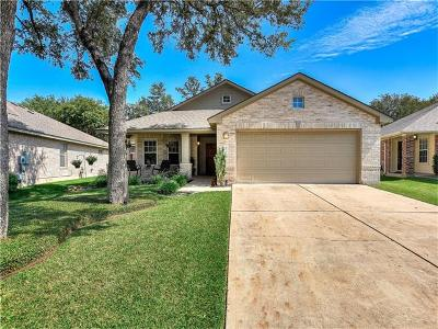 Cedar Park Single Family Home Pending - Taking Backups: 2216 Clover Ridge Dr