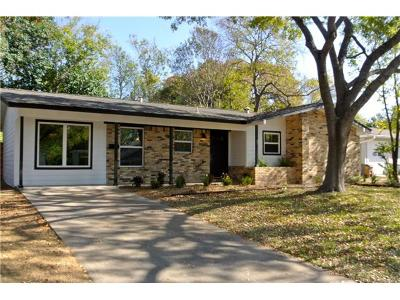 Single Family Home For Sale: 8301 Burrell Dr