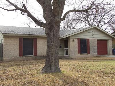Single Family Home For Sale: 1505 Villanova Dr