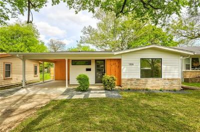 Single Family Home Pending - Taking Backups: 1506 Aggie Ln