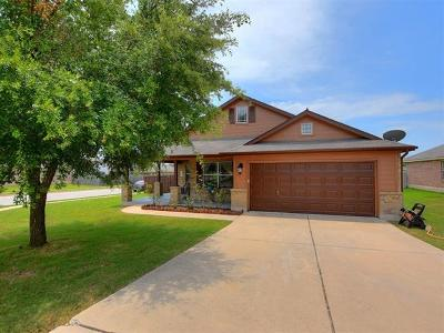 Round Rock Single Family Home For Sale: 3335 Covered Wagon Trl