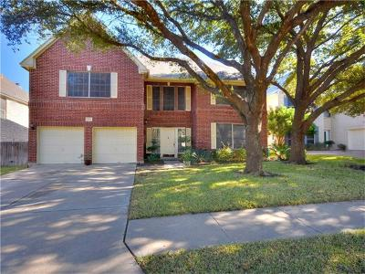 Round Rock Single Family Home For Sale: 1719 Fort Grant Dr
