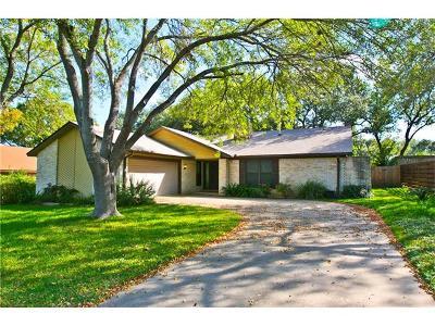 Austin Single Family Home Pending - Taking Backups: 11703 Knollpark Dr