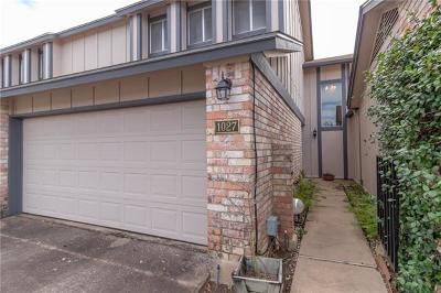 Austin Condo/Townhouse Pending - Taking Backups: 1027 Verbena Dr